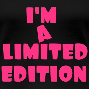 i m a limited edition - T-shirt Premium Femme