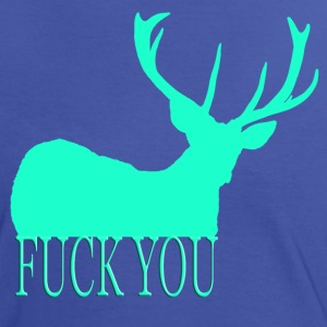 Fuck you contrast - Frauen Kontrast-T-Shirt