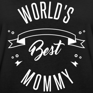 WORLD'S BEST MOMMY - Women's Oversize T-Shirt