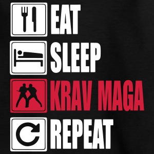 Eat-Sleep-KravMaga-Repeat Shirts - Teenager T-shirt