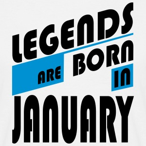 Legends January T-Shirts - Men's T-Shirt