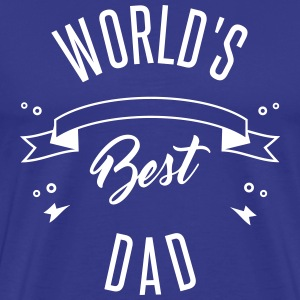WORLD'S BEST DAD - Mannen Premium T-shirt