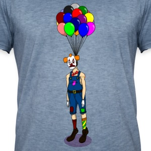 Hangman Clown Ballon - DIGITAL T-Shirts - Männer Vintage T-Shirt