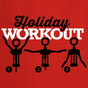 Holiday workout corkscrew Kookschorten - Keukenschort