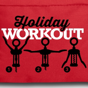 Holiday workout corkscrew Bags & Backpacks - Backpack