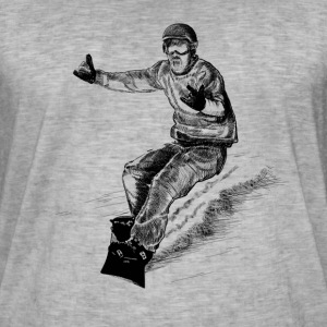 snowboarding Tee shirts - T-shirt vintage Homme