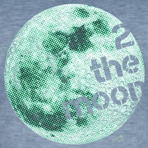 2 the moon T-Shirts - Männer Vintage T-Shirt