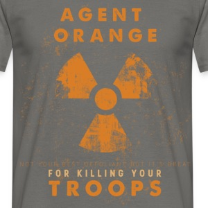 Agent orange not your best  defoliant but it's gre - Men's T-Shirt