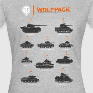 World of Tanks Wolfpack - Women's T-Shirt