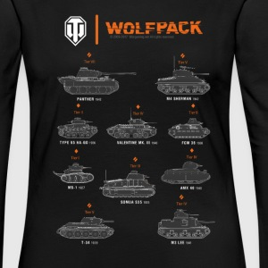 World of Tanks Wolfpack - T-shirt manches longues Premium Femme