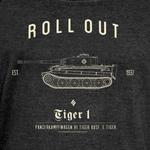 World of Tanks - Tiger 1 - Women's Boat Neck Long Sleeve Top