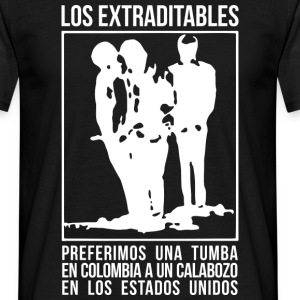 Los Extraditables (oscura) Tee shirts - T-shirt Homme