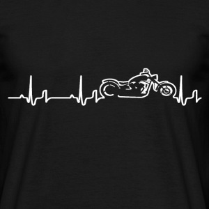 Heartbeat - Chopper T-shirts - Mannen T-shirt