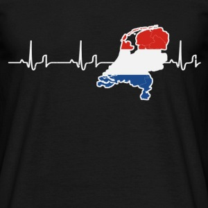 Heartbeat - Holland T-shirts - T-shirt herr