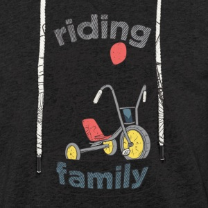 Anthrazit riding family Pullover & Hoodies - Leichtes Kapuzensweatshirt Unisex