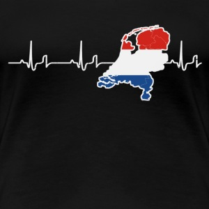 Heartbeat - Holland T-Shirts - Women's Premium T-Shirt