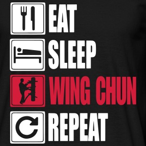Eat-Sleep-WingChun-Repeat T-Shirts - Men's T-Shirt