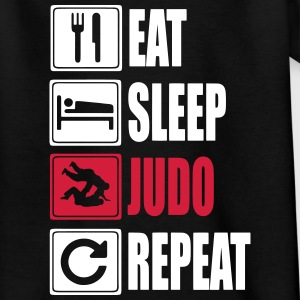 Eat-Sleep-Judo-Repeat Tee shirts - T-shirt Ado