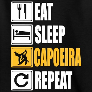 Eat-Sleep-Capoeira-Repeat Shirts - Teenage T-shirt