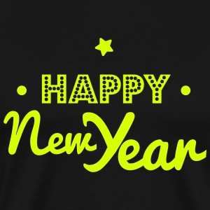happy new year T-shirts - Mannen Premium T-shirt