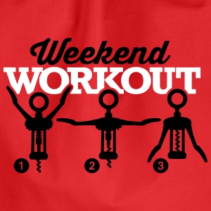 Weekend workout corkscrew Tassen & rugzakken - Gymtas