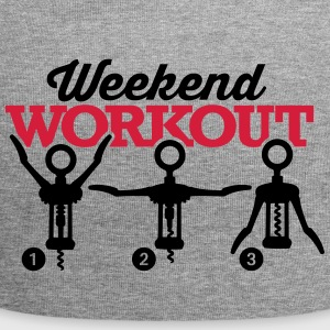 Weekend workout corkscrew Casquettes et bonnets - Bonnet en jersey