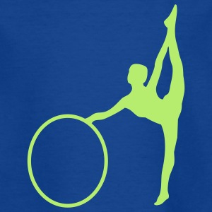 Gymnastic girl - Teenager-T-shirt