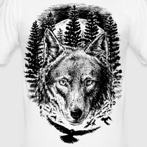 AD Wolf T-shirts - slim fit T-shirt