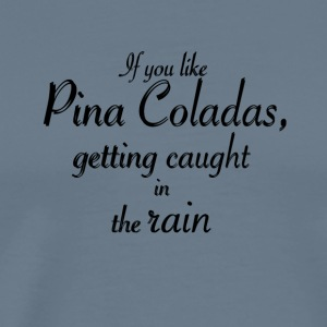 If you like Pina Coladas - Männer Premium T-Shirt