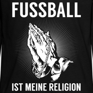 Football - religion Manches longues - T-shirt manches longues Premium Ado