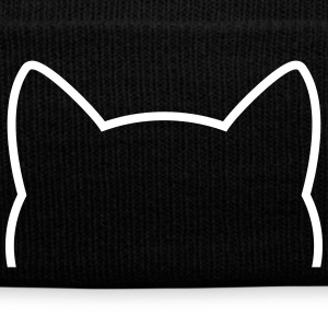 Cat Icon Outline Gorras y gorros - Gorro de invierno
