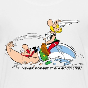 Asterix & Obelix - Never Forget It's A Good Life! - Premium T-skjorte for barn