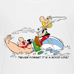Asterix & Obelix - Never Forget It's A Good Life! - Teenage Premium T-Shirt