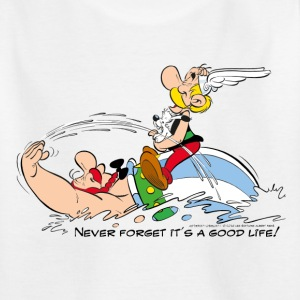 Asterix & Obelix - Never Forget It's A Good Life! - Kinderen T-shirt
