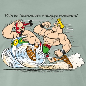 Asterix & Obelix - Pain is temporary - Mannen Premium T-shirt