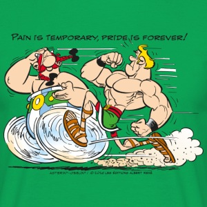 Asterix & Obelix - Pain is temporary - Mannen T-shirt