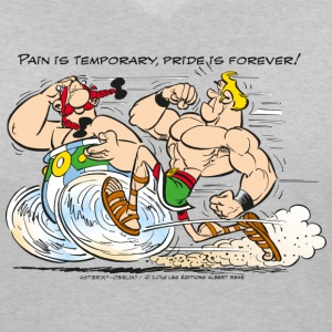 Asterix & Obelix - Pain is temporary - Women's V-Neck T-Shirt