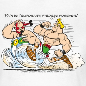 Asterix & Obelix - Pain is temporary - Dame-T-shirt
