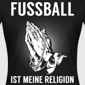 Fodbold - religion T-shirts - Dame-T-shirt
