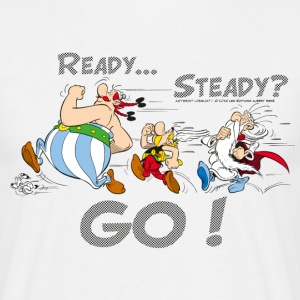 Asterix & Obelix - Ready Steady Go! - T-shirt herr