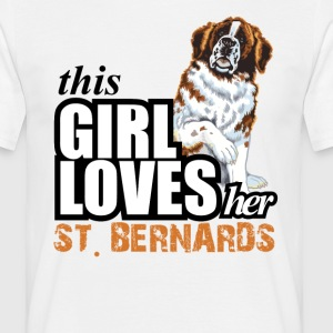 This Girl Loves Her Pit Bull T-Shirts - Men's T-Shirt