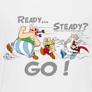 Asterix & Obelix - Ready Steady Go! - Børne premium T-shirt