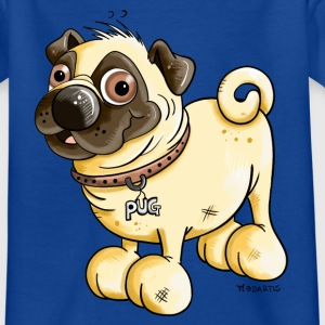Happy Pug Shirts - Kids' T-Shirt