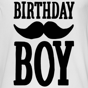 Birthday Boy Hipster Sportkleding - Mannen basketbal shirt