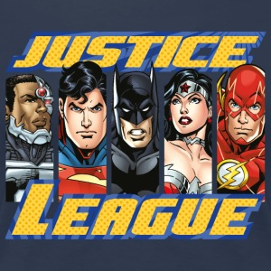 DC Comics Justice League Group Picture - Vrouwen Premium T-shirt