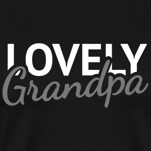 Lovely Grandpa T-Shirts - Men's Premium T-Shirt