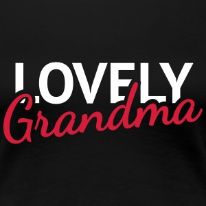 Lovely Grandma T-Shirts - Frauen Premium T-Shirt
