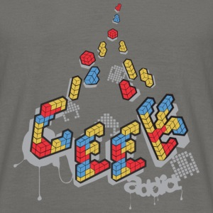 Geek addict - T-shirt Homme