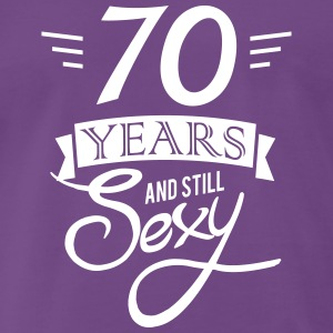 70 years and still sexy T-Shirts - Men's Premium T-Shirt