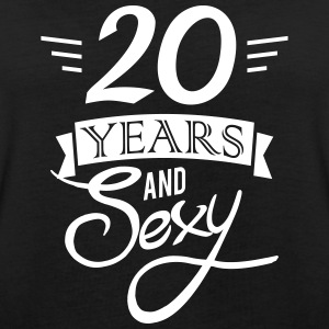 20 years and sexy T-shirts - Dame oversize T-shirt